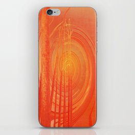 Spiraling Forest Pink iPhone Skin