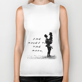 She moves to the Moon Biker Tank