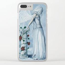 Hope Angel Clear iPhone Case