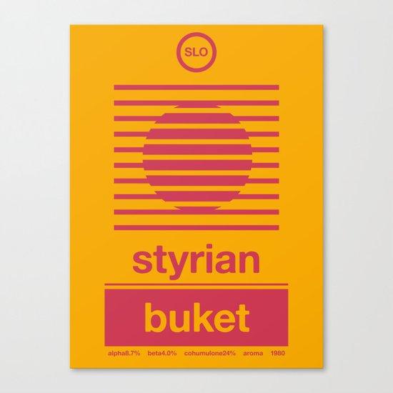 styrian buket single hop Canvas Print