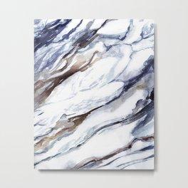 Marble print 1 Metal Print