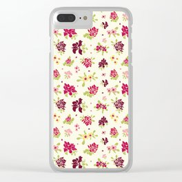 Bright Summer Clear iPhone Case