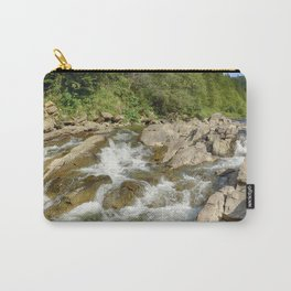 Blue whirlpools waterfall Carry-All Pouch