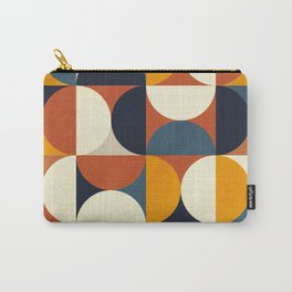 mid century abstract shapes fall winter 3 Carry-All Pouch