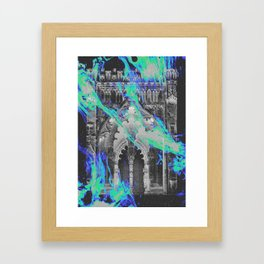 RAGE AGAINST THE DYING OF THE LIGHT Framed Art Print