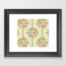 Bouquet Blossom Framed Art Print
