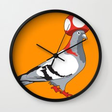 Pigeon Toad. Wall Clock