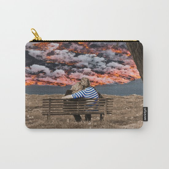 Volcano Eruption Carry-All Pouch