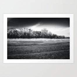 Earth and Sky Art Print