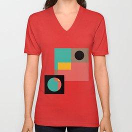 Geometric Crazy 1 Unisex V-Neck