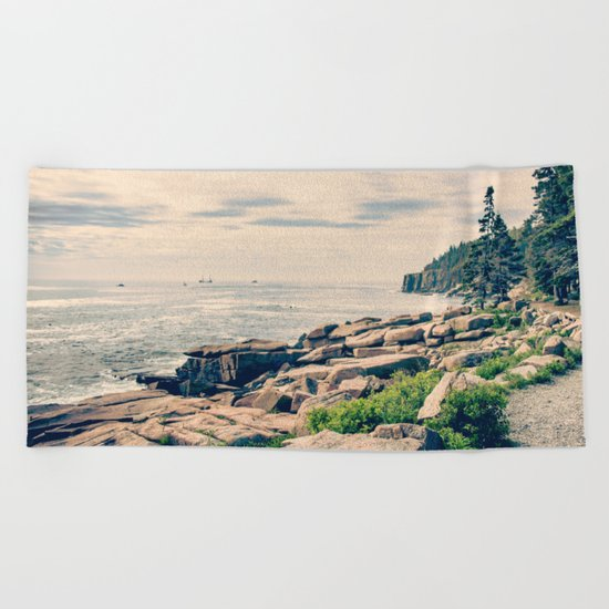 Acadia Beach Towel