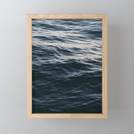 Deep Blue Framed Mini Art Print
