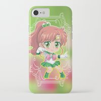 sailor jupiter iPhone & iPod Cases featuring Sailor Jupiter by Neo Crystal Tokyo