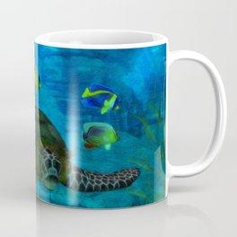 Into the Deep Aquarium Coffee Mug