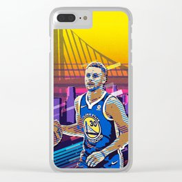 Steph Curry Clear iPhone Case