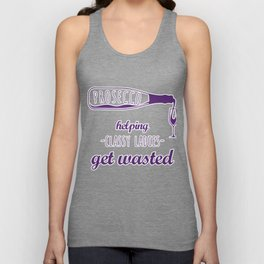 Prosecco How Classy Ladies Get Wasted  Unisex Tank Top