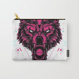 The Wolf sacred geometry Carry-All Pouch