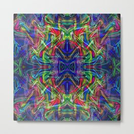 Alien Frequency Metal Print