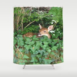 Ivy Fawn Shower Curtain