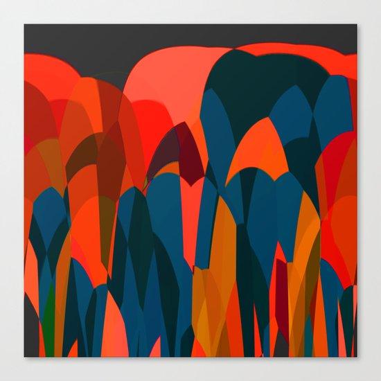 African Night Canvas Print