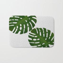 Monstera Leaf II Bath Mat