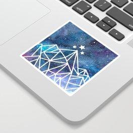 Watercolor galaxy Night Court - ACOTAR inspired Sticker