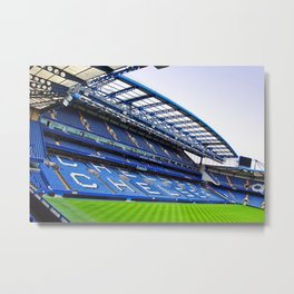 Stamford Bridge West Stand Chelsea Metal Print