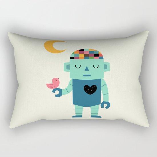 Robot Dreams Rectangular Pillow