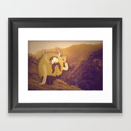 Diamond Darrel Framed Art Print