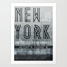 Metropolis New York Art Print