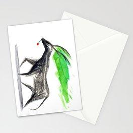 dark deer Stationery Cards