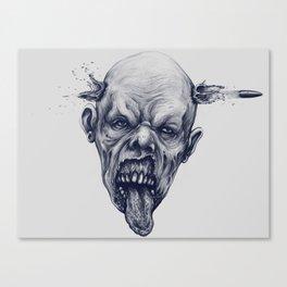 head shot Canvas Print
