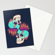 Skull Redux Stationery Cards