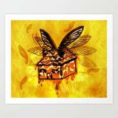 Maple House Fly Art Print