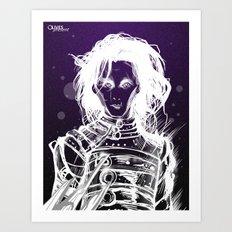 シザーハンズ Art Print