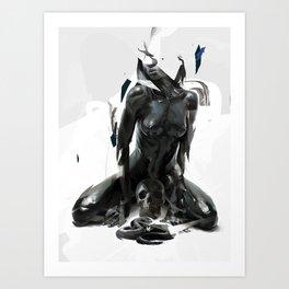 Black Mamba Art Print