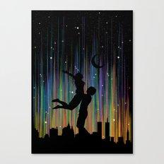 Bright Lights Canvas Print
