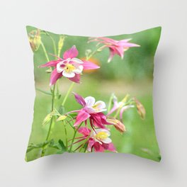 Colombine Throw Pillow