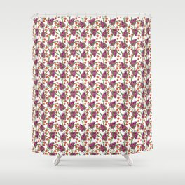 Sultry Summer - Orchids Shower Curtain