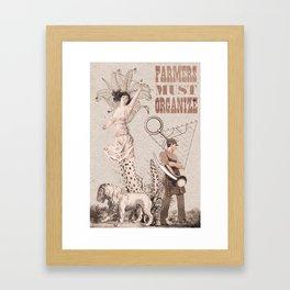 RE: Volution Framed Art Print