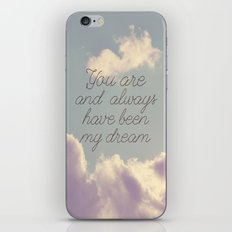 My Dream  iPhone & iPod Skin