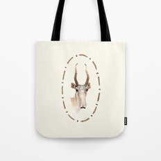 The Saiga Antelope Tote Bag