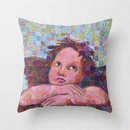 Sistine Cherub No. 2 Throw Pillow