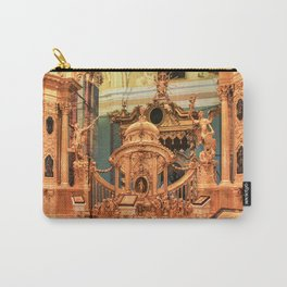 Gates and golden iconostasis of Peter and Paul Cathedral. Carry-All Pouch
