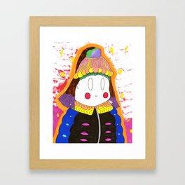 My Coat Framed Art Print