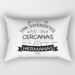 AMIGAS Y HERMANAS Rectangular Pillow