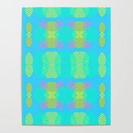Destellos de luz Poster