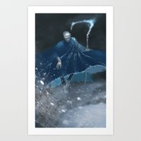 jack frost Art Prints featuring Jack Frost by vicious mongrel