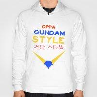 gundam Hoodies featuring Gundam Style by Joynisha Sumpter