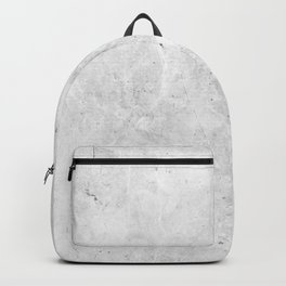 White Light Gray Concrete Backpack